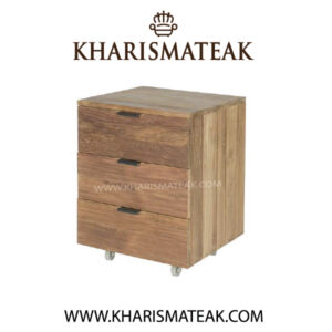 rafless bedside 3 drawer, kharismateak worldwide furniture market